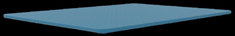 dreamcloud premium mattress - gel infused foam layer