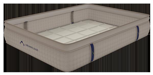 dreamcloud hybrid mattress - base